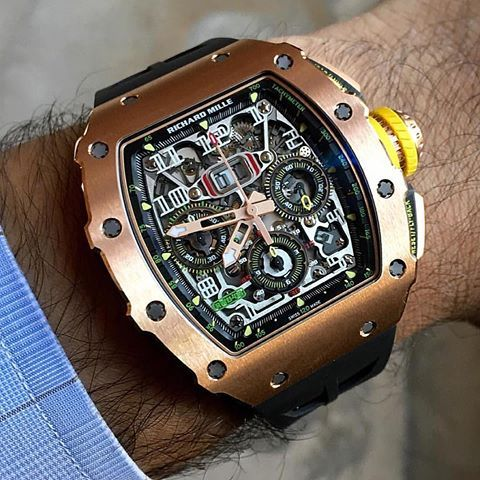 richard mille or rose